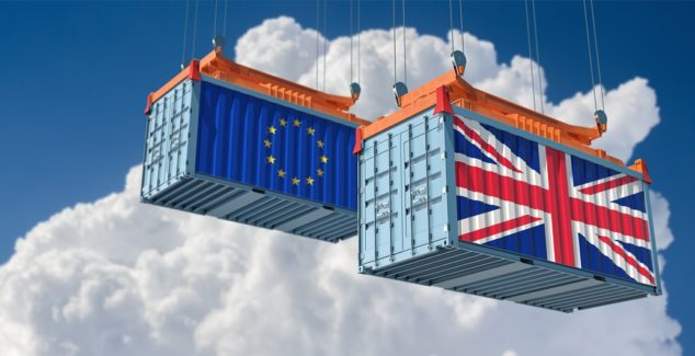February shows some recovery in Exports to the EU