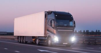 HGV Driving on the road